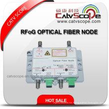 Rfog Optical Mini Nodo / CATV FTTH Receptor Óptico De Fibra