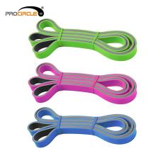 Banda de resistencia de látex de doble color ProCircle Fitness Pull Up Band