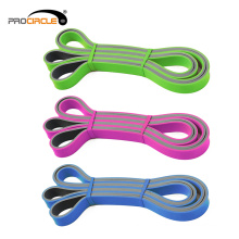ProCircle Fitness Dual Color Banda Resistência De Látex Pull Up Band