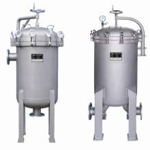 Carcasa de filtro multi-bolsa de acero inoxidable para tratamiento de agua