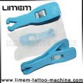O profissional mais novo estilo estéril embalado qualidade piercing Cor da ferramenta Laranja