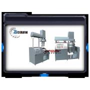 Mezclador de la emulsificación del vacío crema ZRJ - 100L