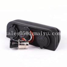 Dual Marine Cigarette Lighter Splitter Socket Adapter Sockets
