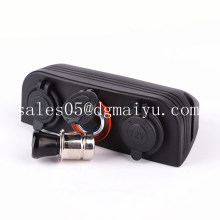 Dual Marine Cigarette Lighter Splitter Power Adaptor Sockets