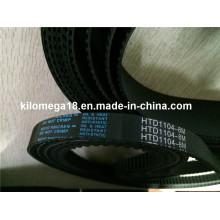 Boa qualidade correia dentada de borracha para venda Htd1104-8m-30mm
