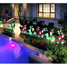 Simulation Lily Lawn Lights