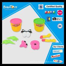 Забавные обычай дети игрушка плесень клоун DIY играть тесто глины