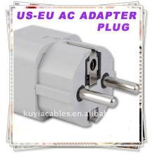USA UK AUS EU para Alemanha Korea Travel Adapter Adaptador de Alimentação CA Universal Adaptador de Alimentação Universal