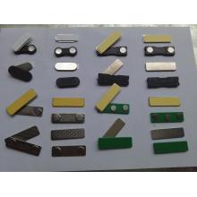 Emblemas de nome de cor magnética