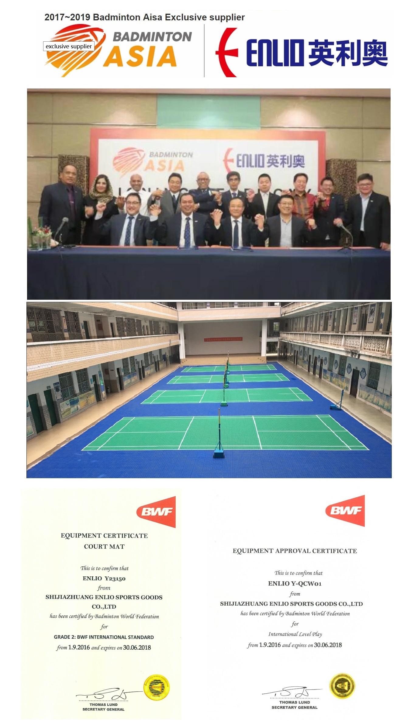 Enlio Badminton Flooring