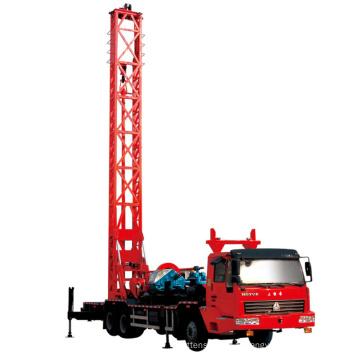 Machine de plate-forme de forage de puits pour 400 m de profondeur