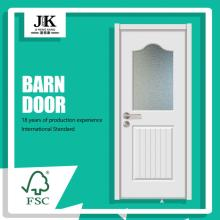 JHK-G13 White Solid Core Frosted Glass Office Doors Office Door Design