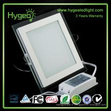1 * 2 PF 0,95 Lampe en aluminium / plaque vitrée en aluminium / jour / jour