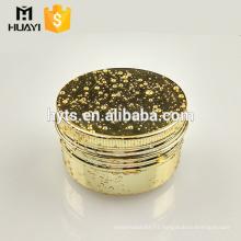 wholesale empty aluminium cream jar cosmetic packaging