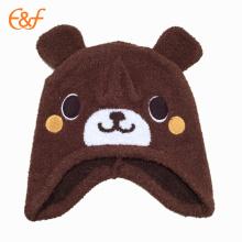 Baby Boys Animal Pattern Sombrero de punto de invierno