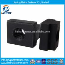 Black plated carbon steel slider nut,channel nut
