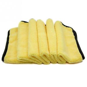 Warp Knitting Color  Microfiber Cleaning Towels