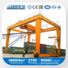 Rail Mounted 10ton 16ton 20/10ton 32/10ton 36/16ton 50/10ton Container Gantry Crane