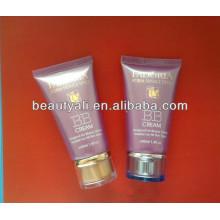 BB tubo de crema de plástico para el embalaje de cosméticos