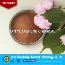 Sodium Ligno SLS comme Superplastifiant de béton auxiliaire de bronzage