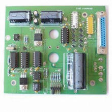 Turnkey PCB Assembly, Suitable for Interface Control Board/Computer/Industrial Device, RoHS-marked