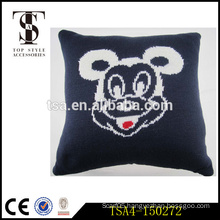 mickey mouse inflatable bolster pillow hotel suitable decoration seat cushion