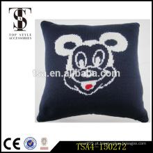 Mickey mouse inflável travesseiro travesseiro hotel apropriado decoração assento de assento