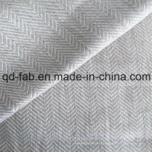180G / M2 100% tela tejida de lino (QF16-2479)