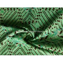 Grünes Dreieck Druckgewebe für Sportbekleidung (HD1401112)