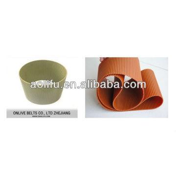 polyuréthane Double sided ceinture