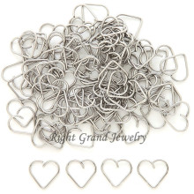 316L Surgical Steel Heart Helix Piercing Jewelry