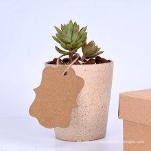 Custom Kraft Paper Hang Strung Gift Tags
