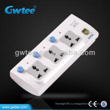 3-контактный штепсель / гнездо, гнездо Multi Plug, удлинитель питания