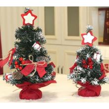 Mini árvores de Natal artificiais para decorações para casa