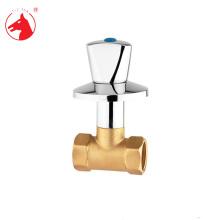 """Taizhou fabricante 3/4 """"latão válvula escondida"""