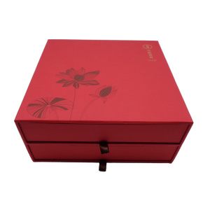 Luxury Drawer Cardboard Gift Box for Tea