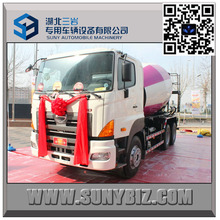 Hino Mixer Truck 8 M3 Cement Mixer Truck