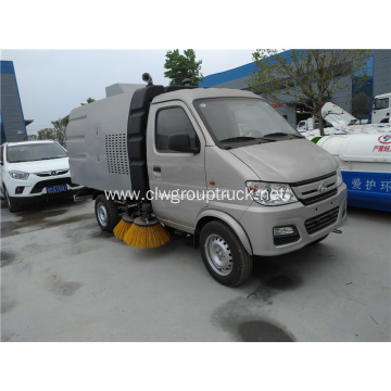 Mini Compact street sweeping truck