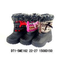 Pueple Nylon Oxford Snow Boots