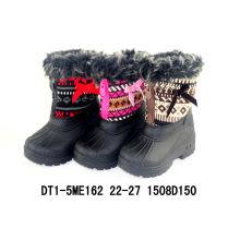Pueple Nylon Oxford Snow Boots
