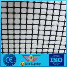 Plasctic Geogrid Composite with Nonwoven Geotextile