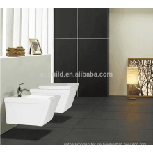 Made in China Badezimmer p-Falle Keramik Runde Wand hing WC / tragbare Toilette