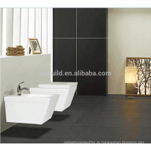 Feito na China casa de banho p-trap cerâmico parede rodada suspenso banheiro / vaso sanitário portátil