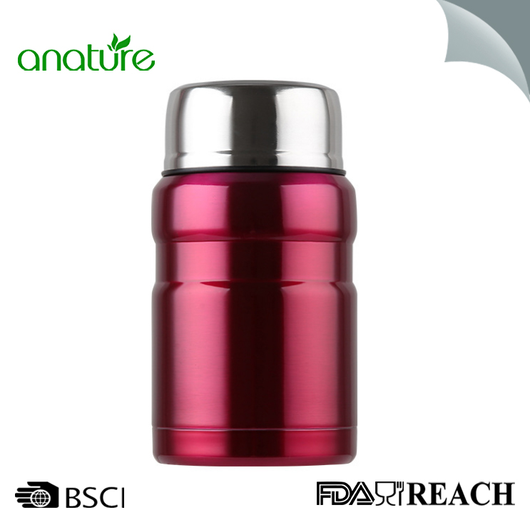 550ML Insulated Stainless Steel Food Jar With Folding Spoon