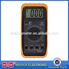 Multímetro digital CE MY60 con Buzzer Auto Power Off fabricantes de máquinas