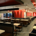 (SP-CS352) Uptop Contract Chain Fast Food Cafeteria Restaurant Furniture