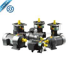 750w 1500w 2200w 3700w 1HP 2HP 3HP 5HP pequeño motor del engranaje de la CA de 3 fases