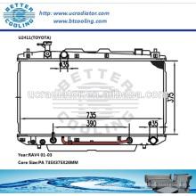 Ensemble de radiateur pour Toyota RAV4 01-03 AT OEM: 1640028180