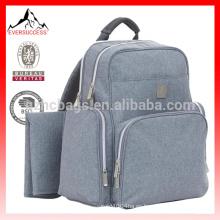 cuidado de la madre y productos para bebés, bolso de pañales mochila gris-HCDP0045