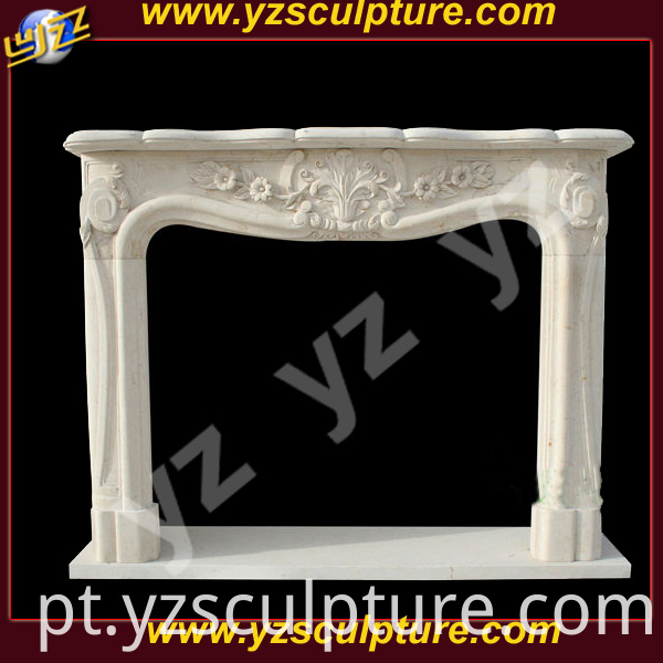 Stone Fireplace Mantel